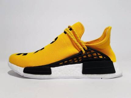 ADIDAS NMD PHARRELL WILLIAMS HUMAN RACE YELLOW Most Sizes