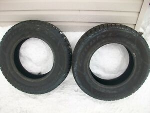 215 70 R15 Goodyear Nordic winter tires Cheap! Pair of two