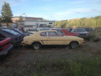 Clearing lot! Parting of old cars, trucks, tires and rims,