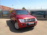 2010 (10) MITSUBISHI SHOGUN 3.2DI-DC LWB ELEGANCE SAT NAV LEATHER CAMERA