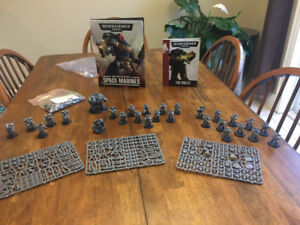 Warhammer 40K - Space Marines unpainted
