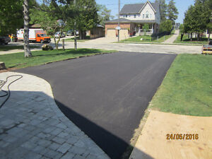 Paving Contractors: Parking lots, driveways and more in asphalt Cambridge Kitchener Area image 2