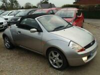 2004 Ford Streetka 1.6i Luxury 2dr CONVERTIBLE Petrol Manual
