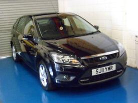 SOLD - Ford Focus 1.6TDCi 110 ( DPF ) 2011MY Zetec 5 Door In Black - SOLD