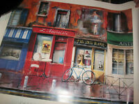 Paris Cafe Wall Print