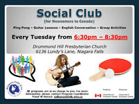 Social Club for Newcomers to Canada