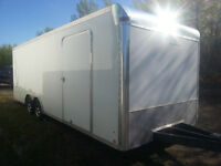 2012 LOOK 8.5 X24 FT CAR HAULER. MINT