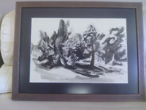 Ernst Paar Signed Original Drawing-Watercolour, Ink North Shore Greater Vancouver Area image 5