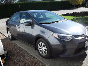 2014 Toyota Corolla CE Sedan - PRICE REDUCED MUST SELL