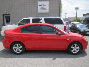 2007 Mazda 3 Sport GS **LOW KM**