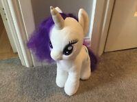 My little pony teddy. Rarity.