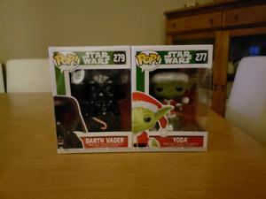Funko Star Wars Christmas pops