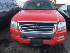 2008 4.0L RED FORD EXPLORER FOR PARTS