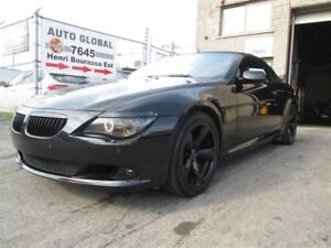BMW 6 Series 650I CONVERTIBLE, BLACK OUT, LOOK D'ENFER!! 2008
