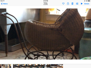 Baby carriage antique