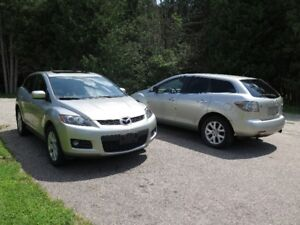 !! PARTING OUT 2007-2009 MAZDA CX7 2.3L TURBO AWD !!!
