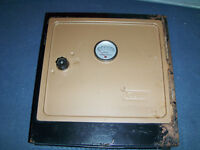 VINTAGE COLEMAN FOLDING CAMP OVEN-1970/80S-CAMPING-STOVES