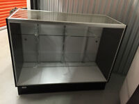 Glass Display Cabinet | Like New | Taped and Ready to go