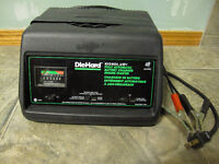 Sears DieHard Battery Charger - 10/2/60A 6/12V
