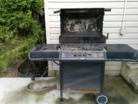 Natural gas BBQ in working condition