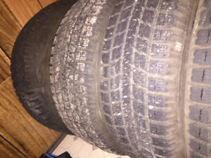 REDUCED Honda civic tires and rims. 5 bolt 195/65 r15
