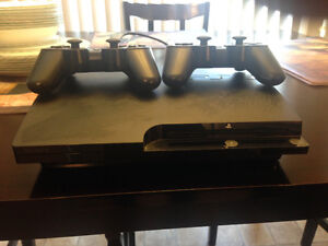 Sony Play Station 3 With Controller