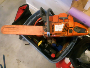 Chainsaw and gear