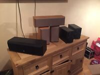 Yamaha speakers and amp