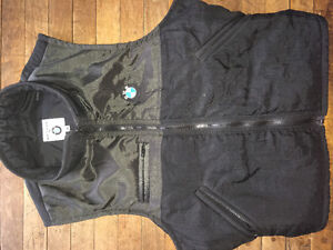 5 Vests: BMW, Wilsons, Levi's, ROOTS & Lrg