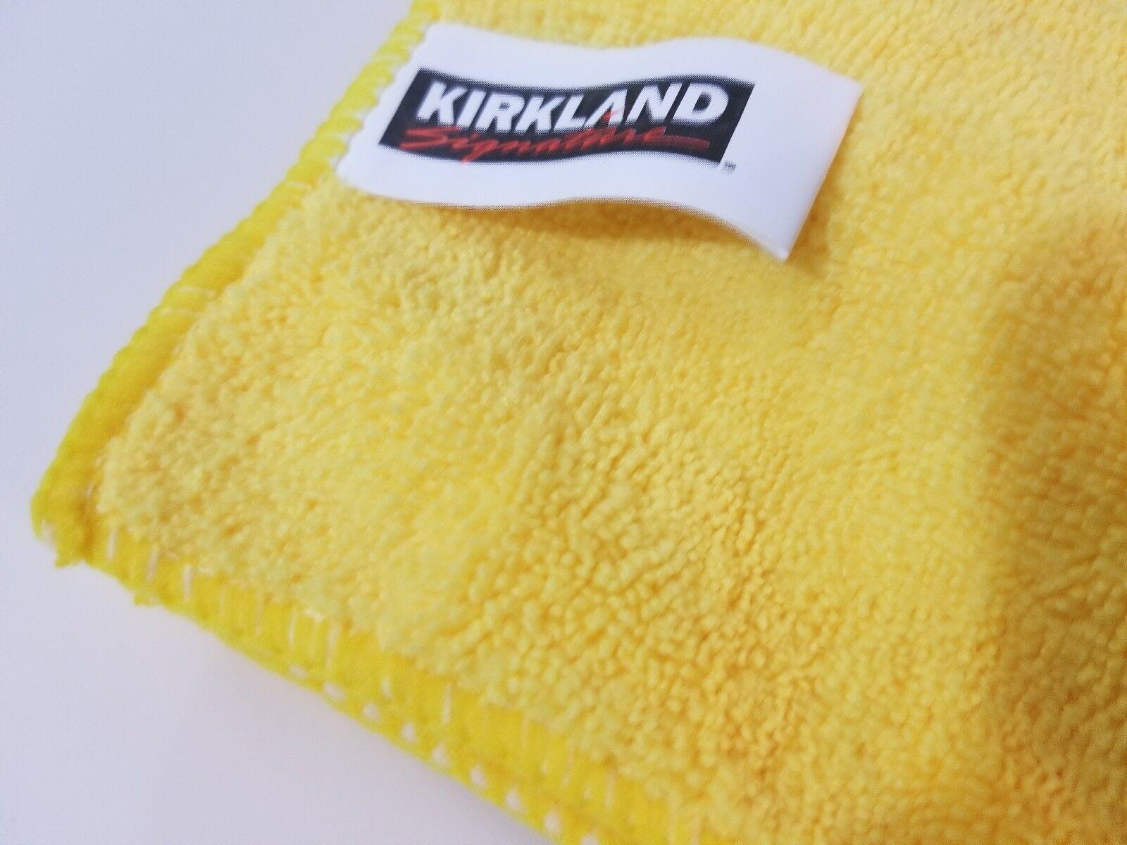 Kirkland Signature Ultra Plush Microfiber Towels 16x16