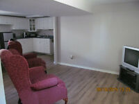 Basement apartment Oct-Apr/16- shared back entrance-