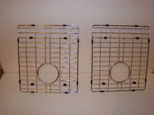 Grille en  inox pour évier  /   Stainless steel Sink grid