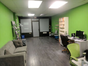 Available - Prior Office Unit,  w/ Washroom 2 Parking & Basement