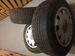 Winter tires with Rims   205/65/R15