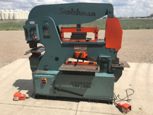 150 Ton Scotchman Ironworker - Excellent Condition!