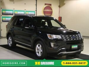 2016 Ford Explorer XLT 4WD CUIR TOIT MAGS 7 PASSAGERS