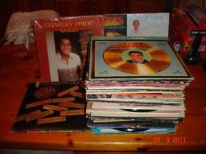 33 1/3 LP's + 45's LP