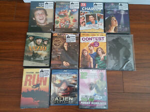 Online Bidding: 11 New DVD Movies to Bid On (Taking best offer)