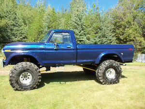 1978 Ford F-250 Custom Monster Truck for Sale