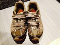 Geox Silver Lights Up Shoes size 10.5