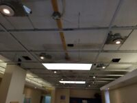 Need a Quote- For small commercial ceiling  n wall.