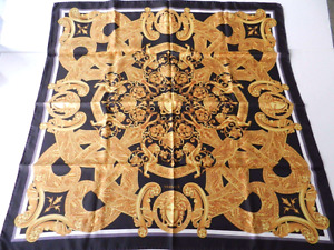 NEW $650 VERSACE SILK SCARF