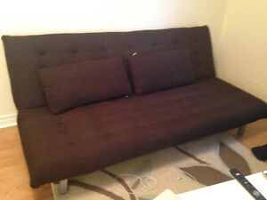 Brown Futon from The Brick