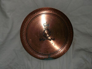 RCMP copper tray Cornwall Ontario image 1