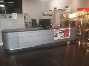 Retail Store Fixture counter shelf display - STORE CLOSING SALE