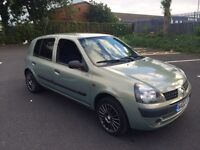 2002 Renault Clio 1.2, MOT July 2017