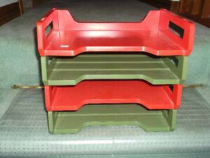 Desk Trays Retro-Vintage