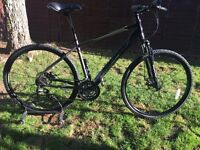 Carrera crossfire 2 hybrid mountain bike unmarked serviced