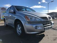 Ssangyong Kyron 4X4 excellent condition service history only 57000 miles