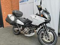 SUZUKI DL650 V STROM CHEAP PX TO CLEAR WITH FULL 3 BOX LUGGAGE